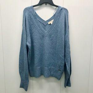 MICHAEL Michael Kors Double V neck  Sweater
